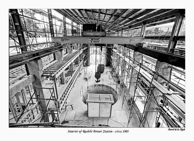 Interior Ruahihi Power Station - 1980