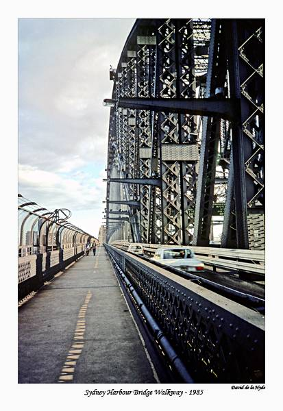 Sydney Harbour Bridge Walkway - 1985